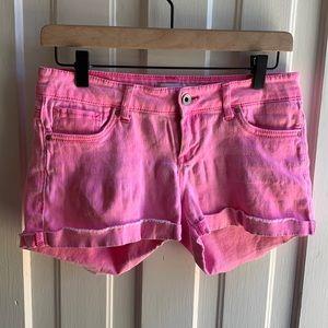 Levi's Pink Shorty Short